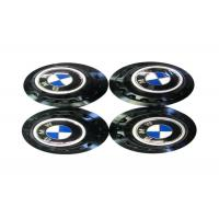 Wholesale High Performance Auto Exterior Accessories , Blue Metal Emblem Rim Center Caps  from china suppliers