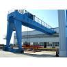 Q235 Q345 Steels Semi Gantry Crane Lifting Equipment Electric Motors Driving for sale