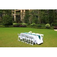 Wholesale factory supply White Resin Folding Wedding Chair for Outdoor/Garden Wedding Chair from china suppliers