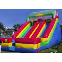 Wholesale Rainbow Commercial Inflatable Slide For Big Event / Screamer Inflatable Bounce Slide from china suppliers