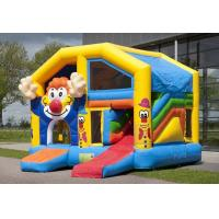 Wholesale Jumper Clown Combos Commercial With Roof / Inflatable Bouncer Castle For Party from china suppliers