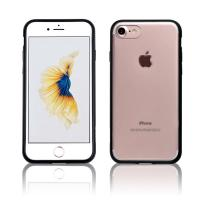 Buy cheap C&T Clear Hard PC Back Panel Cell Phone Case TPU Bumper Design Shock Absorption Cover Case for iPhone 7 from Wholesalers