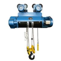Buy cheap 10,16T,20T  Electric Wire Rope Hoist 380V / 50HZ / 60HZ For Large Capacity from wholesalers