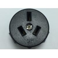 China PC Wall Argentina Electric Plug Sockets Single Power Outlet Round Shape on sale