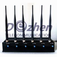 China 6 Bands All Remote Controls Jammer & RF Jammer (315/433/868/915MHz) on sale