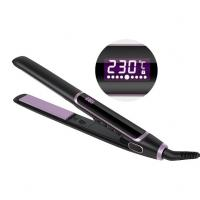 Wholesale 2 In 1 Professional MCH Heater Private Label Titanium Flat Iron Hair Straightener from china suppliers