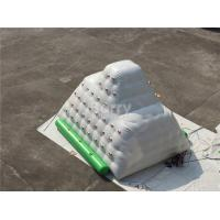 Wholesale Durable 0.99mm PVC Inflatable Water Iceberg / Inflatable Climbing Wall from china suppliers