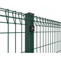 Wholesale Roll Top Welded Wire Mesh Fence Panels Galvanized / Powder Coated Surface from china suppliers