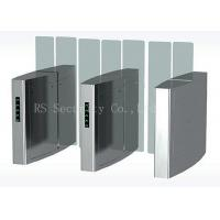 Quality Outdoor Turnstile Speed Gates, Full Height Glass Barrier Security Gate for sale