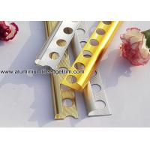 China Aluminum Alloy Corner Bead Wall Tile Edge Trim Profiles With Round Corner for sale