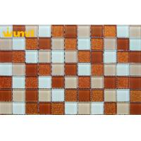 Wholesale Wear Resistant Swimming Pools Stained Glass Mosaic Tiles With 300 × 300mm from china suppliers