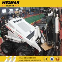 China small garden tractor loader backhoe, lawn tractor mini front end loader, log loader traile on sale