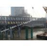 Q345B Pre Engineered Modular Steel Bailey Bridge Heavy Capacity Long Fatigue Lifespan for sale