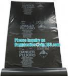 BUILDING FILMS, Asbestos bag, PE asbestos bag, building waste bag asbestos bag,