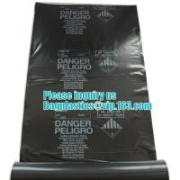 Quality BUILDING FILMS, Asbestos bag, PE asbestos bag, building waste bag asbestos bag, for sale