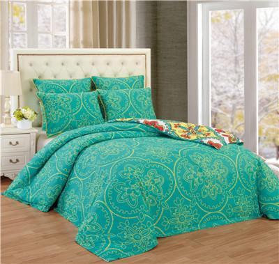 Quality Printed Comforter Set 6pcs Reversible Bedding Set for sale