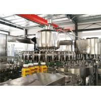 Wholesale PLC Washing Capping Juice Bottle Filling Machine 3 Phase For 500ML Plastic Bottles from china suppliers