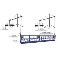 Steel Suspended Working Platform ZLP800 With 800kg Capacity & 100m Working Height for sale