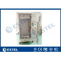 "Wholesale 19 "" Electric Outdoor Telecom Cabinet  With Heat Exchanger Cooling Double Layer from china suppliers"
