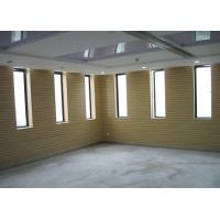 Buy cheap MDF Wooden Grooved Acoustic Panel For Church , Meeting Rooms from wholesalers