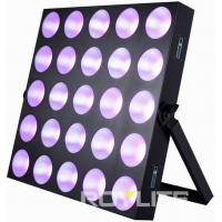 Wholesale Audience Pro Lighting LED Matrix Blinder Light 5 x 5  Mixing Panel Fixture from china suppliers