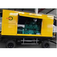 Wholesale 375KVA Portable Electric Power Mobile Diesel Generators With Soundproof Canopy Backup Power from china suppliers