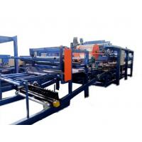Wholesale Colored Steel PU Sandwich Panel Production Line , Roof Panel Roll Forming Equipment from china suppliers