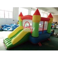 Wholesale Customized mini inflatable party bouncers , jump house with small slide for kids from china suppliers