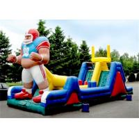Quality Durable Inflatable Obstacle Course , Inflatable Outdoor Obstacle Course With CE for sale