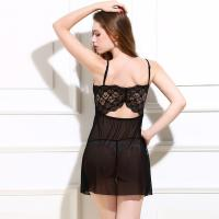 Wholesale Transparent Hot Fashion Sexy Nylon Lingerie Babydoll Nighty Ladies Sexy Linigerie Sleepwear from china suppliers