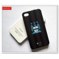 China Hard Plastic Cell Phone Case With Football Team Logo on sale