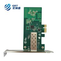 F901E compatible Allied Telesis 2911 PCI Express Gigabit Intel I210 Network Card for sale