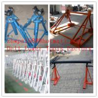 Wholesale Cable drum trestles, made of cast iron,Jack towers from china suppliers