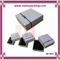 Wholesale 2016 Luxury Customized Packaging Paper Box/Jewelry Paper Gift Box/White Cardboard Paper Box ME-TB001 from china suppliers