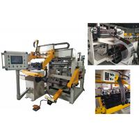 600mm Width Copper Foil Winding Machine For LV Transformer With TIG Welding