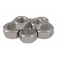 China SS304 / 316 A2/A4 SAE Stainless Steel Hex Nuts Fastener For Threaded Rod Passivated 1/2 on sale