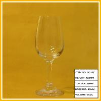 China Custom Made Mini Clear Goblet Wine Glass Fine Crystal Champagne For Wedding on sale