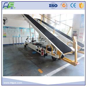Towable Baggage Conveyor Belt Loader , 700 - 750 Mm Width , Easy Operation