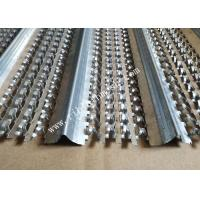 China 3.39kgs / M2 0.4mm High Ribbed Formwork 20mm Rib Height 2.5m Length For Construction on sale