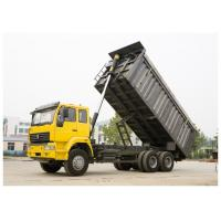 Wholesale 10 wheels HOHAN 35 tons capacity tipper construction dump trucks with chassis optional cab from china suppliers