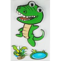 Wholesale Personalised Crocodile 3D Cartoon Stickers Paper Layered For Bedroom Wall Decorative from china suppliers