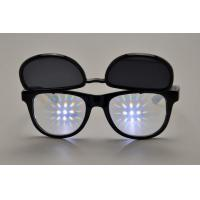 Wholesale 1.0mm Lense 3D Fireworks Glasses / Plastic Diffraction Glasses from china suppliers