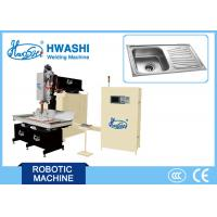 Wholesale 304 Kitchen / Hotel Double Bowl Sink Automatic Welding Machine , Water Sink Seam Welding Equipment from china suppliers