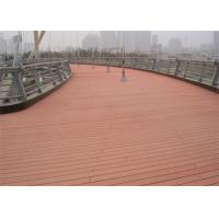 China Anti - Slipping Environment Friendly Wood Plastic Composite WPC Decking Boards on sale