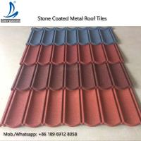 Wholesale Metal Roofing Sheets Stone Coated Terracotta Red Coating Steel Roof Tile Prices from china suppliers
