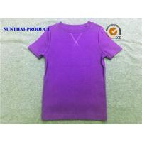 Wholesale Spring / Summer Personalised Kids T Shirts , Round Neck Toddler Girl Short Sleeve Shirts from china suppliers