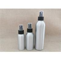 Wholesale Silver Color Aluminum Cosmetic Bottles For Cosmetic Packaging Custom Size from china suppliers