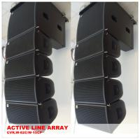 2 Way Audio 15 Inch Pa System Plywood Speaker Box For Night Club