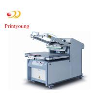 Semi - Automatic Paper / Label Silk Screen Printing Equipment 380V 3kw for sale