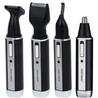 China 4 in1 Rechargeable  washable Stainless steel cutter head nose hair trimmer for men on sale